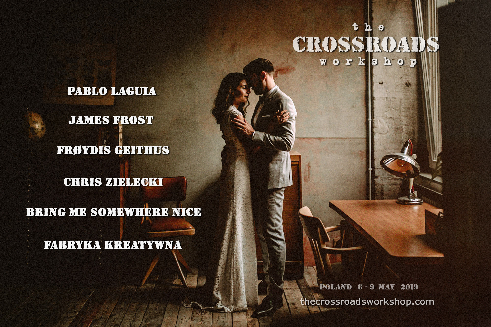 The Crossroads 2019 wedding photography workshop Poland